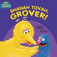 """Cover of """"Shanah Tovah, Grover!"""""""