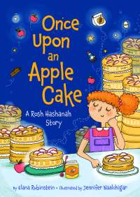 "Cover of ""Once Upon an Apple Cake"""