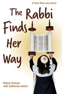 """Cover of """"The Rabbi Finds Her Way"""" by Robert Schoen and Catherine deCuir"""