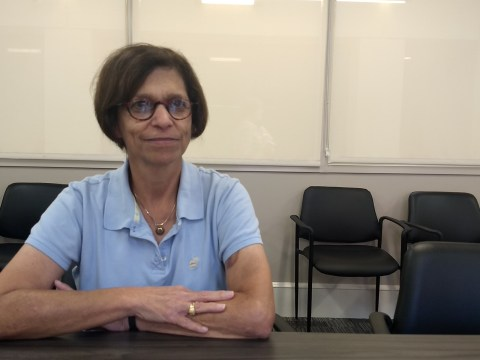 Ellen Surloff, who was president of the Dor Hadash congregation at the time of the shooting, was consumed for months afterward dealing with its aftereffects. (Photo/JTA-Ben Sales)