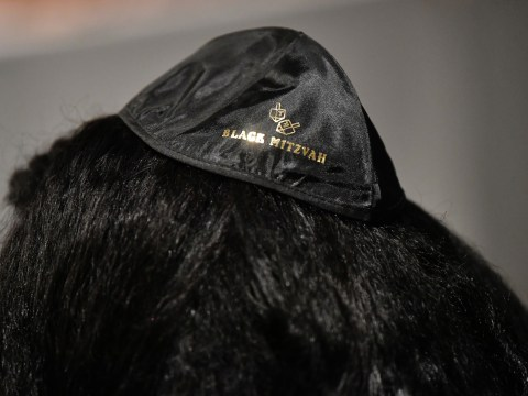 And there were plenty of yarmulkes. (JTA/Emma McIntyre/Getty Images for Netflix)
