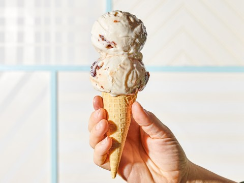 Miso cherry cone from Eclipse Foods. (Courtesy Eclipse Foods)