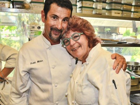 Executive chef Scott Miller and director of prepared foods Sandy Sonnenfelt of Market Hall. (COURTESY MARKET HALL)