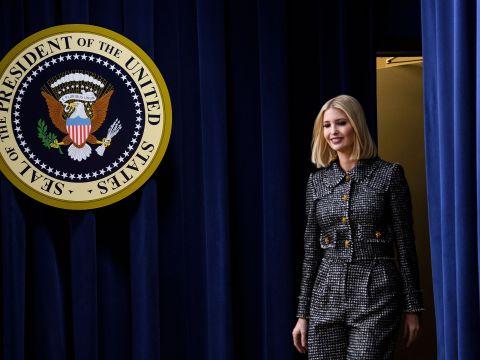 Ivanka Trump at the White House, Dec. 12, 2019. (Photo/JTA-Brendan Smialowski-AFP via Getty)