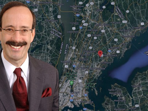 Rep. Eliot Engel (D-NY) on his New York Congressional District. (Photos/Wikimedia Commons; Google Maps)
