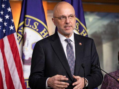 Rep. Ted Deutch, D-Florida, speaks in Washington, D.C., Jan. 28, 2020. (Photo/JTA-Samuel Corum-Getty Images)