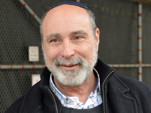Rabbi Paul Shleffar has been San Quentin's staff Jewish chaplain since 2015.