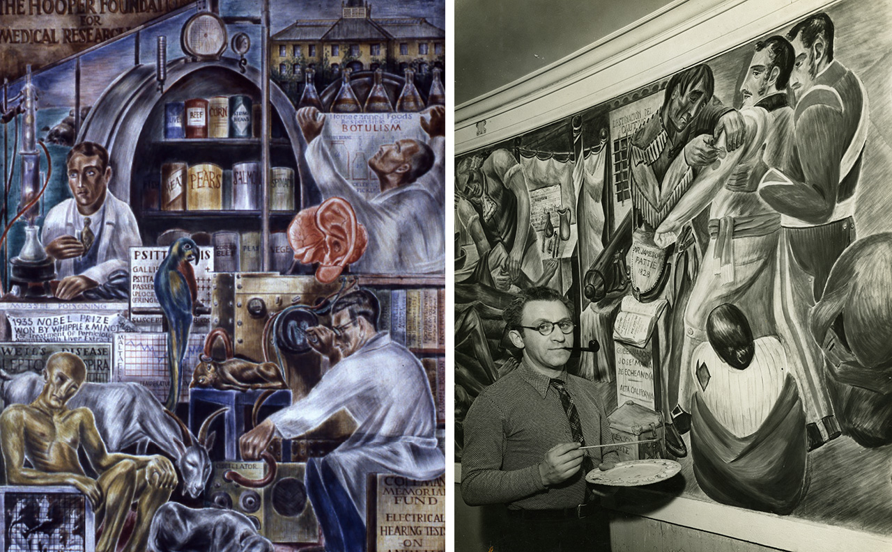 UCSF announces removal plan for historic New Deal-era Zakheim murals