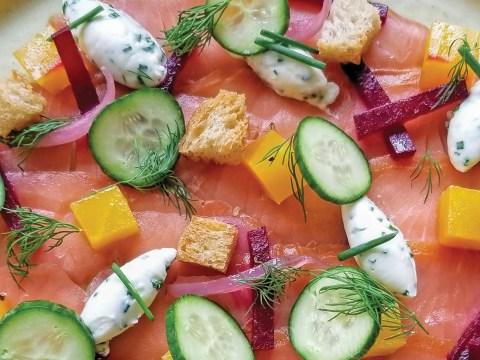 Lox salad by Beth Needelman. (Photo/Courtesy Needelman)