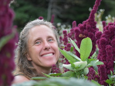 """Sephirah Stacey Oshkello co-founded the Living Tree Alliance, a Jewish cohousing community and farm on 91 acres in Vermont tagged """"the kibbutz reimagined."""" (Photo/JTA-Courtesy Oshkello)"""