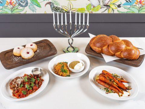 Hanukkah specialties available at Grossman's Noshery & Bar in Santa Rosa. (Photo/Courtesy Gorssman's)