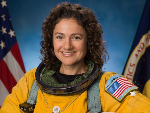 Jessica Meir in her official NASA portrait. (Photo/JTA-NASA-Robert Markowitz)