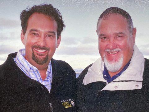 Sam Herzberg (left) and his father, Hershel Herzberg. (Photo/Courtesy Sam Herzberg)