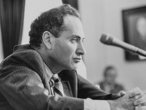 Chuck Schumer as a House rep in 1990. (Photo/JTA-Maureen Keating-CQ Roll Call via Getty Images)