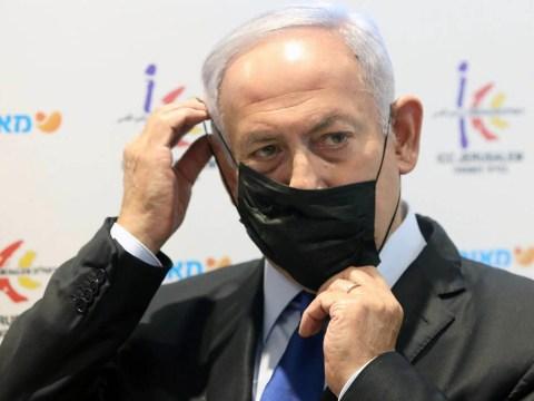 Israeli Prime Minister Benjamin Netanyahu visits a vaccination center in Jerusalem, Jan. 6, 2021. (Photo/JTA-Marc Israel Sellem-Pool-Flash90)