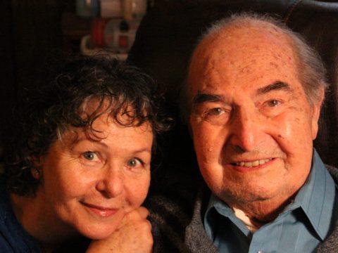 Elizabeth Rosner and her father, Carl H. Rosner. (Photo/Stuart Fiedler)