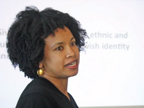 Marcella White Campbell is the new director of Be'chol Lashon, the first Jew of color to hold the position. (Photo/From file)