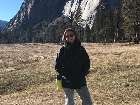 Grace Wallis in Yosemite National Park, Dec. 2018.