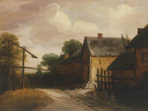 """A Village Road"" by Lodowijck de Vadder, ca. 1630 (Photo/Courtesy FAMSF)"