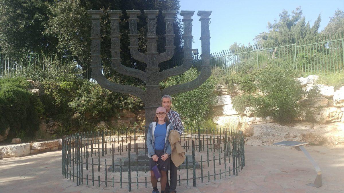 Hannah and Michael Piotrkowski settled in Jerusalem last August.