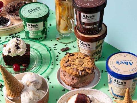 Some of Alec's Ice Cream's delectable offerings. (Photo/Erin Scott-Courtesy Alec's Ice Cream)