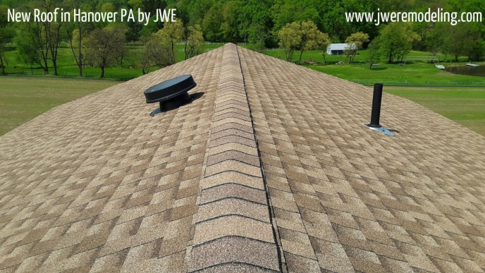 Hanover PA Roof Replacement by JWE Remodeling and Roofing Contractor 17331