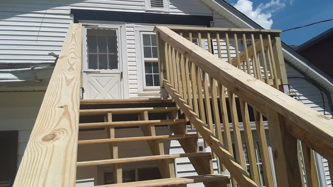 Exterior Home Improvement and Construction Project in Manchester, MD 21088 by JWE Remodeling and Roofing