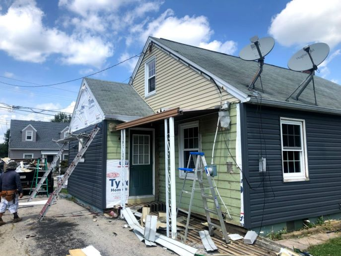 Siding installation and siding repair Hanover PA 17331 by JWE Remodeling and Roofing 17331