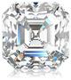 diamond shape asscher