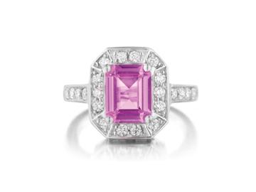 custom gemstone engagement rings san diego