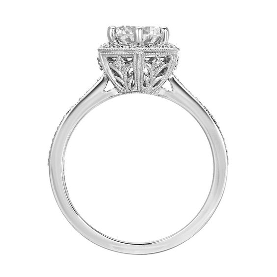 crown design engagement ring san diego