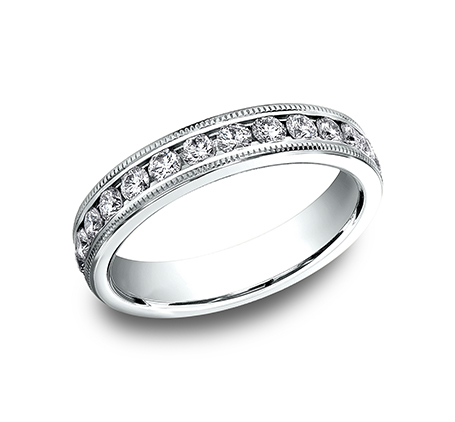 benchmark rings platinum and diamond wedding band