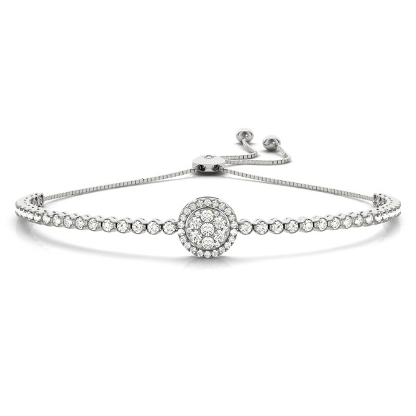 Adjustable Diamond Bracelet