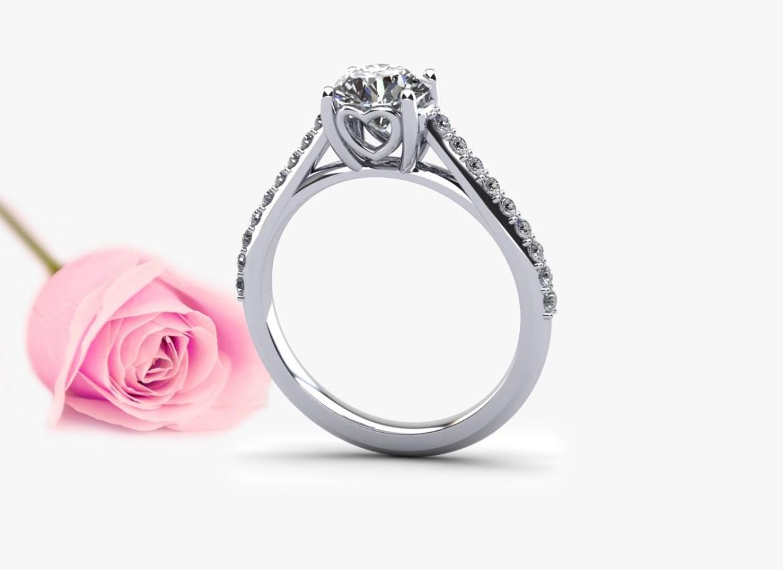 sweetheart anniversary ring