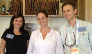 Ginette Searle, Dr Ruth Calderon, Philip Chester