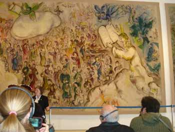 Chagall tapestry in the Knesset