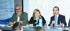 ZCV President Sam Tatarka with Marsha Thomson MP and James Merlino MP