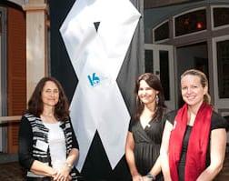 Robeta Freedman, Lisa Shapiro and Belinda Gold  pic: Henry Benjamin