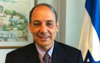 Ambassador Eviatar Manar
