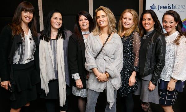 Generations of Women Committee - Miriam Farkas, Ruth Kaye, Hilary Cohen, Sara Pike, Melissa Davis, Keren Zelwer, Suzie Hendel, Andrea Leibler
