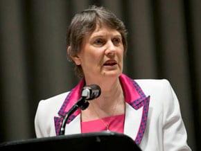 Helen Clark, Administrator of the UN Development Programme (UNDP) UN Photo/Rick Bajornas