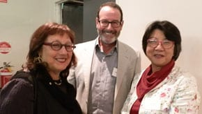 Helen, Rabbi Fred Morgan and Peggy Page