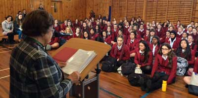 Students hear Holocaust stories