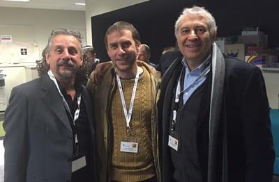 Silvio Josckowicz, Leon Schneider, Dr Danny Lamm