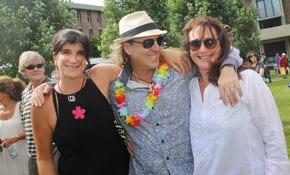 oanne Fedler Hylton Chilchik and Cathy Milwidsky     All photos: Ingrid Shakenovsky
