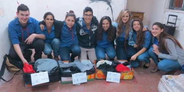 Israeli volunteers