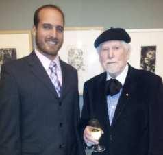 Rabbi Ben Tanny and Franz Kempf Photo: Rob Nachum