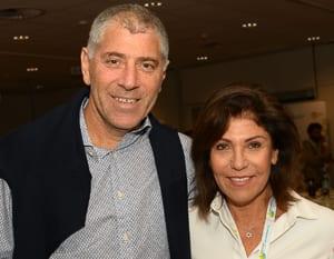UIA NSW president Lance Rosenberg and JNF president Pam Kraill  Photo: Henry Benjamin/J-Wire
