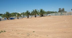 School land planned for greening as part of a JNF Australia project