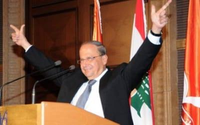 Lebanese President Michel Aoun. Credit: Wikimedia Commons.